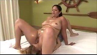 ALISA: Big ass latina facesitting