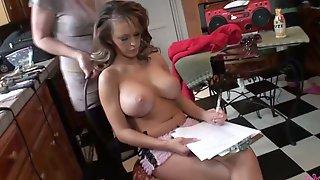 Porno at a behind the scenes